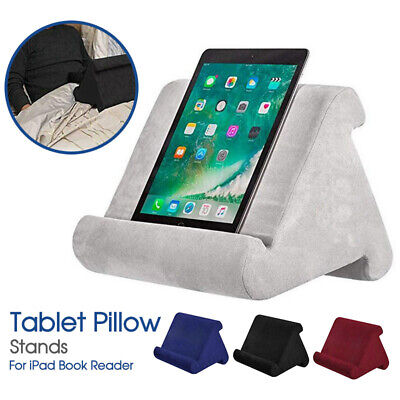 AU18.99 • Buy Tablet Pillow Stands For IPad Book Reader Holder Rest Laps Reading Cushion AU