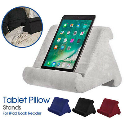 AU14.99 • Buy Tablet Pillow Stands For IPad Book Reader Holder Rest Laps Reading Cushion AU