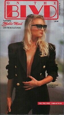 On The BLVD Mello Mail Vol 14 #4 1980s Lingerie Fashion Catalog 101419AME • 14.73$