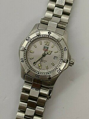 Tag Heuer Professional WK1312 Stainless Steel Quartz Watch - 29mm • 325$