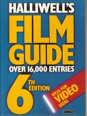 Halliwell's Film Guide (Paladin Books) By Halliwell, Leslie Paperback Book The • 7.49£