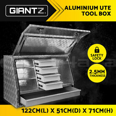 AU699.95 • Buy Giantz Heavy Duty Tool Box Ute Truck Trailer Steel Lock Toolbox Storage Drawer