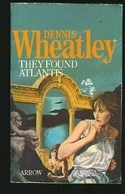 £17.99 • Buy They Found Atlantis By Wheatley, Dennis Book The Cheap Fast Free Post