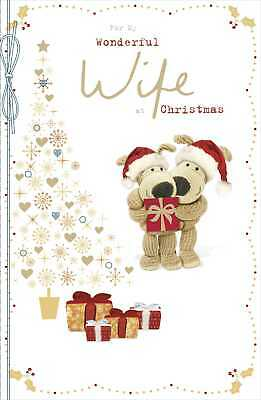 Boofle For My Wonderful Wife Christmas Greeting Card Cute Xmas Cards • 6.99£