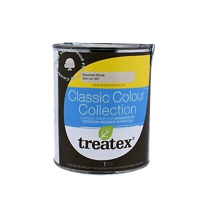 £25.50 • Buy Treatex Classic Colour Interior And Exterior Hardwax Oil - 501 Bleached Wood 1L