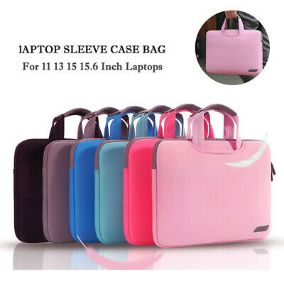 For HP MacBook Microsoft 11 13 15 15.6  Soft Laptop Sleeve Case Bag Carry Pouch • 12.59£