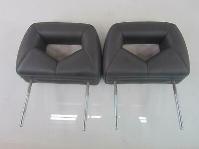 $91.44 • Buy 04-08 PONTIAC GRAND PRIX Front Headrest Grey Leather Set OEM Morad Parts Co