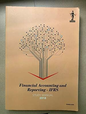 ICAEW Financial Accounting And Reporting - IFRS 2018 By ICAEW Book The Cheap • 8.99£