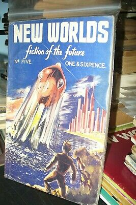 NEW WORLDS SCIENCE FICTION BRITISH No.1 TO 20  [19 ISSUES] • 120£