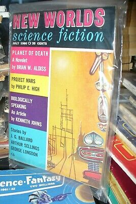 New Worlds Science Fiction Us Digest  July 1960 [1 Issues] • 5£