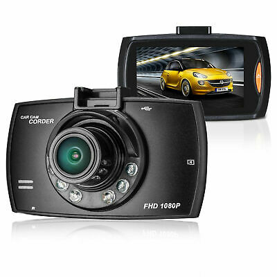 HD 1080P 170° Angle Car Van Dash Cam DVR Recorder 2.4  Video With LCD Camer K3Y3 • 8.12£