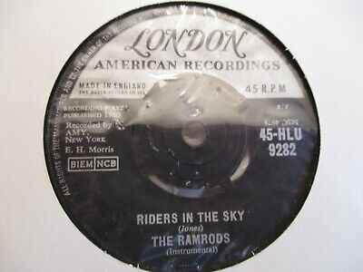 THE RAMRODS Riders In The Sky (Instrumental) 1960 VG+ COPY  • 2.99£