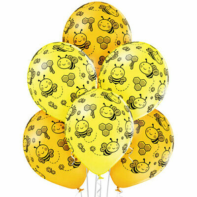 £4.99 • Buy  1 X Pack Of 6 Bee's Latex Balloons 30 Cm (12 Inch) Birthday Party Decor