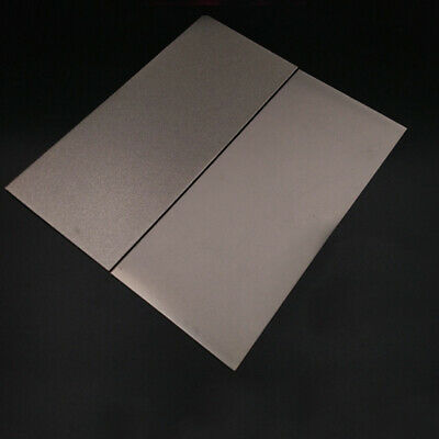 $8.30 • Buy 240-3000 Grit Thin Diamond Square Knife Sharpening Tool Stone Plate Whetstone US