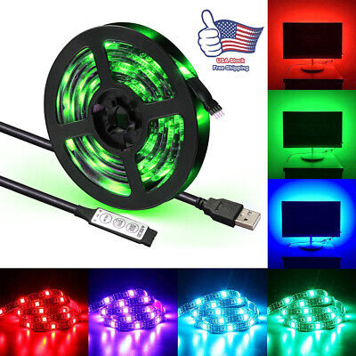 $8.83 • Buy 30LED USB RGB Lighting Strip For TV LCD HDTV Wall Monitor Background Decoration