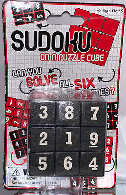 Sudoku Puzzle Cube -2006 - Challenge Game - Factory Sealed - Westminster • 10.61£