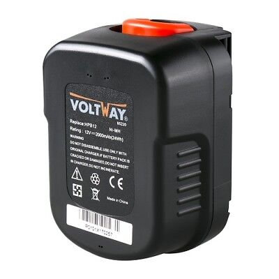 Tool Battery Battery For Black & Decker BD12PSK, A12,A12-XJ,FSB12,HPB12 • 30.40£
