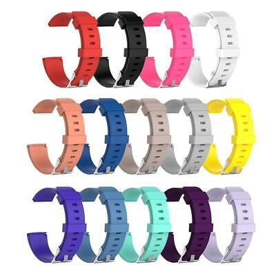 $ CDN8.83 • Buy Soft Silicone Replacement Sport Wristband Watch Band Strap For Fitbit Versa