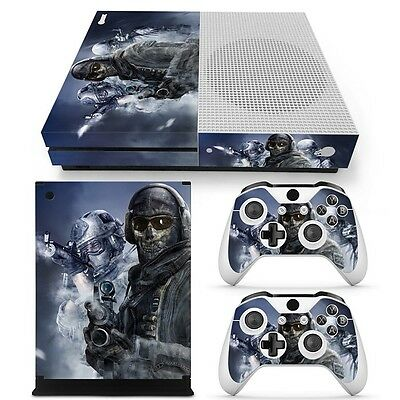 $11.97 • Buy Xbox One S Console & 2 Controllers Combat Decal Vinyl Skin Wrap
