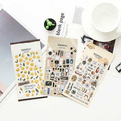 AU1.99 • Buy Paper Stickers Book Stationery Bullet Journal Japanese Style Laptop Diary Gift