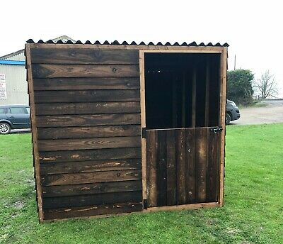 Field Shelter / Stable Light Weight Animal Shelter Ponies, Sheep, Goats Pet • 390£
