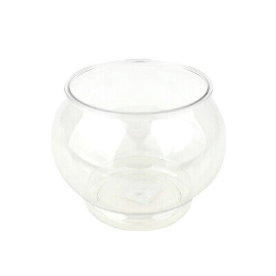 £6.51 • Buy Plastic Fish Bowl Container, Clear, 4-1/2-Inch