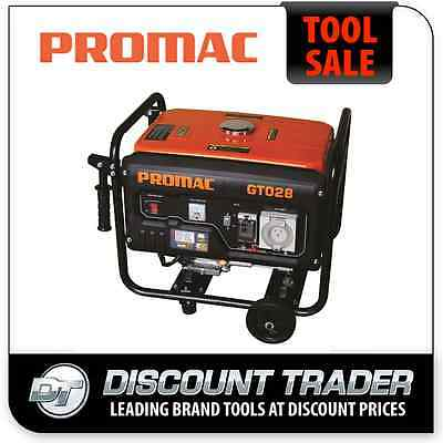 AU990 • Buy PROMAC 2.8KVA Pure Sine Wave RCD Weather Proof Outlets Torini 6.5HP Engine GT028