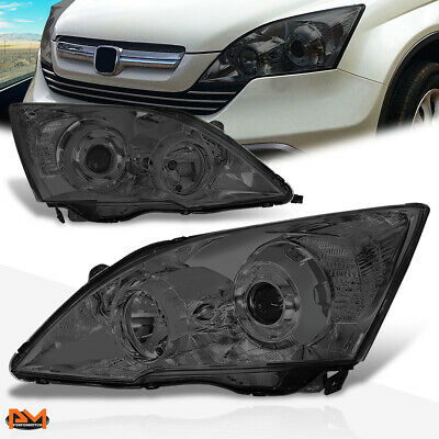 $177.89 • Buy For 07-11 Honda CRV Projector Headlight OE Replacement Smoked Lens Clear Corner