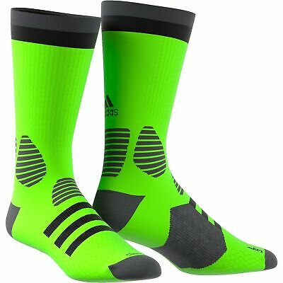 AU32.90 • Buy Adidas ACE Core Sports Socks Fluro Green Cycling Gym Football Fitness Support
