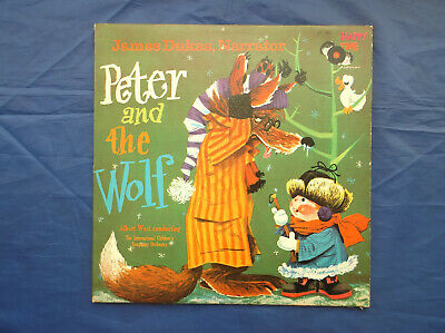 £10 • Buy  Dukas - Peter And The Wolf - The International Children's Symphony Orchestra Lp