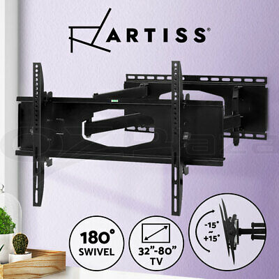 AU49.90 • Buy Artiss TV Wall Mount Bracket Tilt Swivel Full Motion LED LCD 32 - 80 Inch