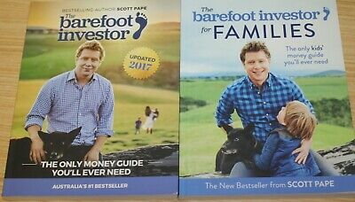 AU35.99 • Buy The Barefoot Investor Update 2017 + Barefoot Investor For Families By Scott Pape