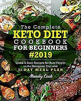 $1.99 • Buy The Complete Keto Diet Cookbook For Beginners 2019 [E-ß00K , PÐF , EPUβ, Кindle]
