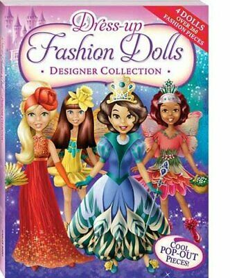 Dress-Up Fashion Dolls Designer Collection Bind-Up Book The Cheap Fast Free Post • 11.99£