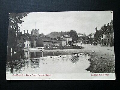 Chalfont St Giles From East Of Pond - Published By E. Maylott, Uxbridge (1905) • 3.50£