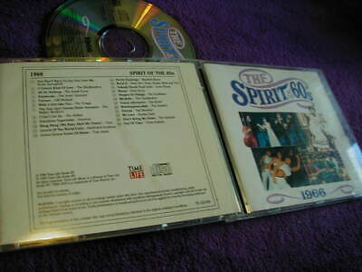 THE SPIRIT OF THE 60s ,1966, TIME LIFE ,CD VARIOUS ARTISTS • 6.75£