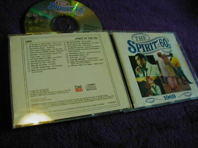 THE SPIRIT OF THE 60s ,1969, TIME LIFE ,CD VARIOUS ARTISTS • 8.99£