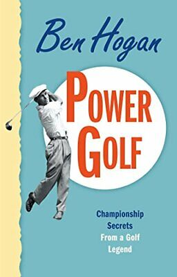 Power Golf By Ben Hogan Paperback Book The Cheap Fast Free Post • 12.99£