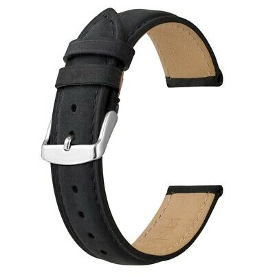 $ CDN17.60 • Buy Anbeer Watch Band Replacement Strap, Classic Retro Leather Watch Strap 14-24MM