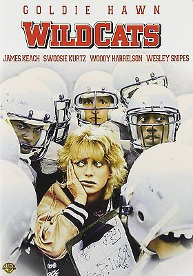 WILDCATS (1986 Goldie Hawn, Wesley Snipes)  DVD - Region 2 UK Compatible • 12.99£