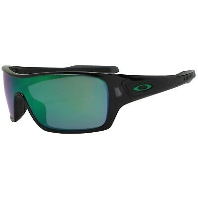 AU179.99 • Buy Oakley OO 9307-04 Turbine Rotor Black Ink Frame Jade Iridium Mens Sunglasses