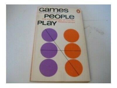 £4.49 • Buy Games People Play: The Pyschology Of Human Relationsh... By Eric Berne Paperback