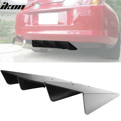 $39.99 • Buy Universal Rear Bumper Diffuser Assembly Cover 22x20 In Unpainted - ABS Plastic
