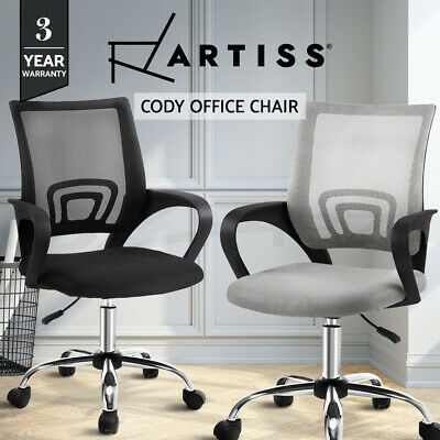 AU75.90 • Buy Artiss Gaming Office Chair Computer Mesh Office Chairs Executive Black Grey