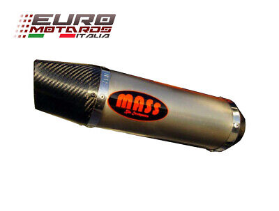 $439.94 • Buy Kawasaki ZX6R 2005-2006 MassMoto Exhaust Slip-On Silencer Oval Titanium