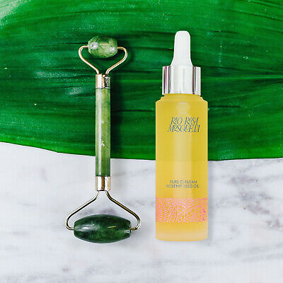Rio Rosa Mosqueta Rosehip Seed Oil 50ml With Jade Roller   Happy Valentine's Day • 22.99£