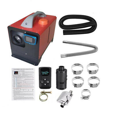 $ CDN589.30 • Buy 12V 5KW Diesel Air Parking Heater Air Heating LCD Switch Thermostat W/1XSilencer