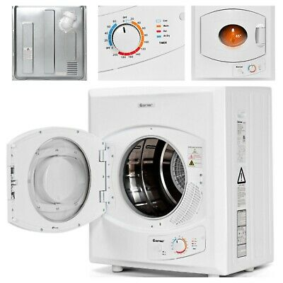 View Details Compact Electric Tumble Dryer W/ 8.8 Lbs Cloth Capacity Stainless Steel 2.65 Cu • 300.00$