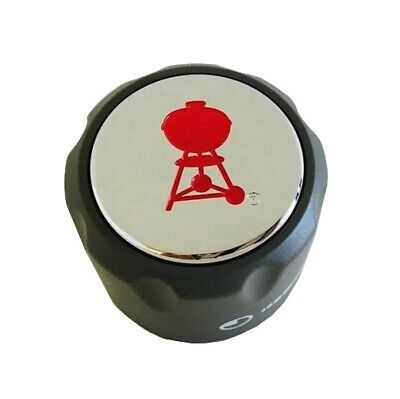 $ CDN19.94 • Buy Weber Summit Series Gas Grill Infrared Red Burner Gas Control Knob 70378 1-7/8