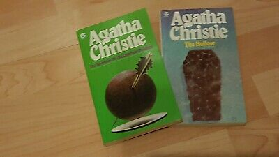 £6.50 • Buy Agatha Christiie 2 X Books The Adventure Of The Christmas Pudding /The Hollow